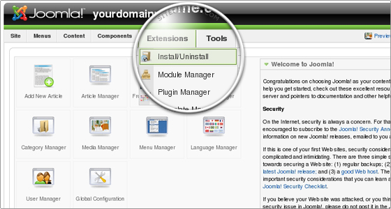 Joomla! 1.6 好用免費擴充(extension)推薦之一